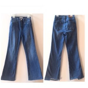 Madewell   Flea Market Flare High Waist Jeans